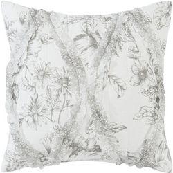Laura Ashley Lena 18'' Decorative Pillow