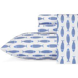 Woodblock Fish Sheet Set