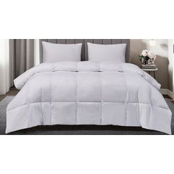 Blue Ridge Home White Goose Down and Feather Comforter