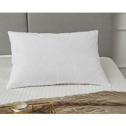 Geneva White Goose Feather & Down Jumbo Pillow