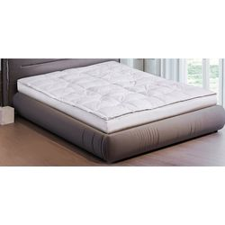 Blue Ridge Luxury 5 Inch Down Top Featherbed Mattress Topper