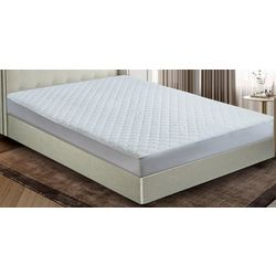 Blue Ridge Home Damask Dot Mattress Pad