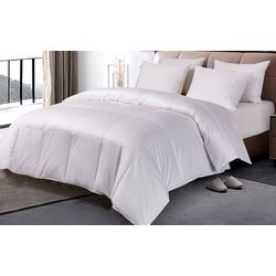 Blue Ridge Pima Cotton European Goose Down Comforter