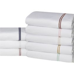 Hotel Suite Cotton-Rich Embroidery Sheet Set