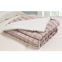 Hotel Suite Micromink Sherpa Reversible Throw