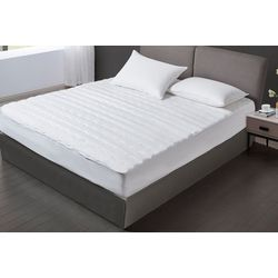 Kathy Ireland Essentials Microfiber Waterproof Mattress Pad