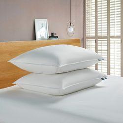 Serta 2-pk. Goose Feather & Down Fiber Jumbo Size Pillow Set