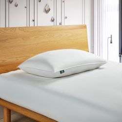 Serta Down Fiber King Size Back Sleeper Pillow