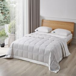 Serta Goose Feather & Down Fiber Blanket