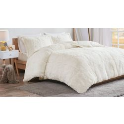 Intelligent Design Malea Shaggy Faux Fur Comforter Set