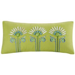 Echo Design Sardinia Lime Green Decorative Pillow