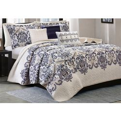 Madison Park Cali 6-pc. Coverlet Set