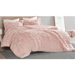 Intelligent Design Shaggy Faux Fur Comforter Set
