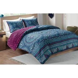 Intelligent Design Ripley Reversible Comforter Mini Set