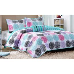 Mi Zone Carly Reversible Coverlet Set