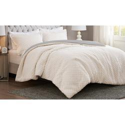 Adler Reversible Sherpa/Faux Mink Comforter Set