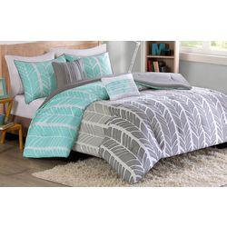 Intelligent Design Adel Aqua Comforter Set