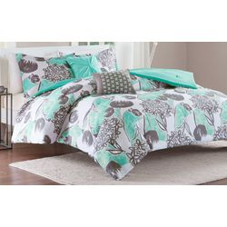 Intelligent Design Marie Aqua Comforter Set