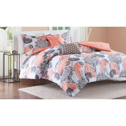 Intelligent Design Marie Coral Comforter Set