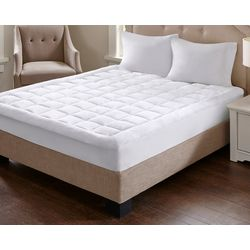 Madison Park Overfilled Plush Down Alternative Mattress Pad