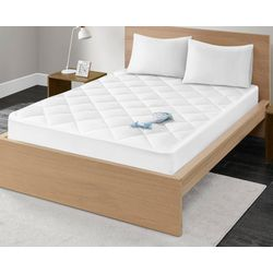 Madison Park Waterproof Down Alternative Mattress Pad