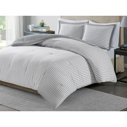 Madison Park Reversible Stripe Comforter Set