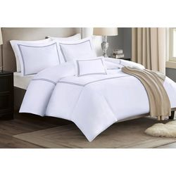 Madison Park Reversible Stripe Comforter Set