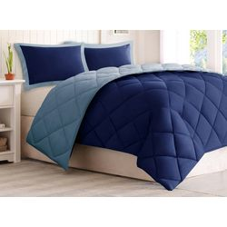 Madison Park 3M Scotchgard Diamond Quilting Comforter Set