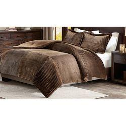 Madison Park Jackson Corduroy Comforter Mini Set