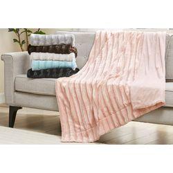 Madison Park Duke Long Fur Blanket