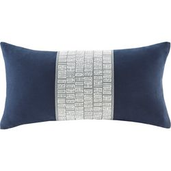 Natori Nara Cotton Lumbar Throw Pillow