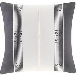 Natori Sterling Dragon Square Decorative Pillow