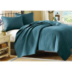Hampton Hill Velvet Touch 3-pc. Coverlet Set