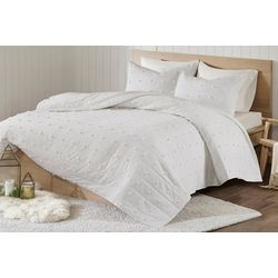Urban Habitat Brooklyn Jacquard Coverlet Set
