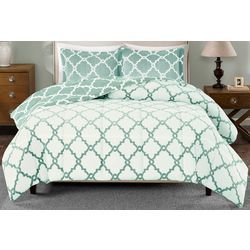 True North Reversible Plush Comforter Set