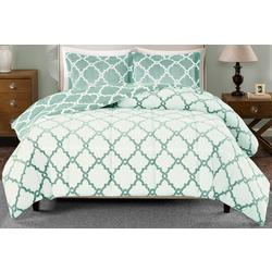 True North Reversible Plush Comforter Set