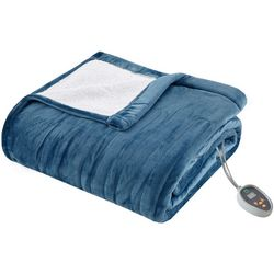 True North Ultra Soft Plush to Berber Heated Blanket