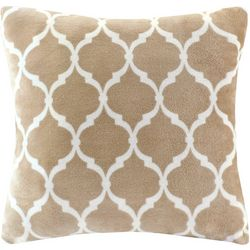 Madison Park Ogee Print Square Pillow