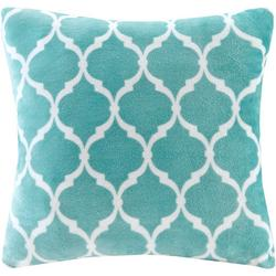 Ogee Print Square Pillow