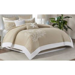 Coastline Khaki 6-pc. Comforter Set