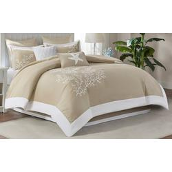 Coastline Khaki 6-pc. Comforter Set