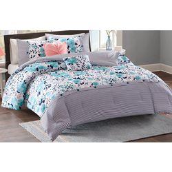 Intelligent Design Delle Reversible Comforter Set