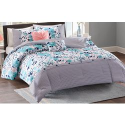 Intelligent Design Delle Reversible Comforter Set