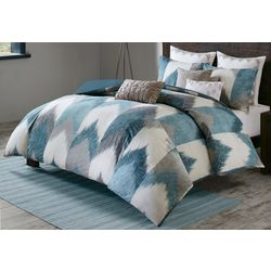 Ink & Ivy Alpine Aqua Comforter Mini Set