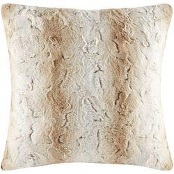 Madison Park Zuri Faux Fur Euro Pillow