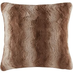 Madison Park Zuri Faux Fur Euro Pillow