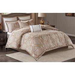 Madison Park Dora 8-pc. Jacquard Comforter Set