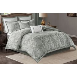Madison Park Dora 8-pc. Jacquard Comforter Set