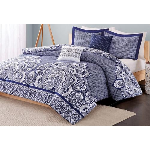 Intelligent Design Isabella Blue Comforter Set Bealls Florida