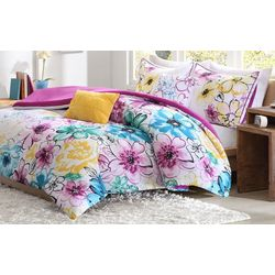 Intelligent Design Olivia Blue Comforter Set